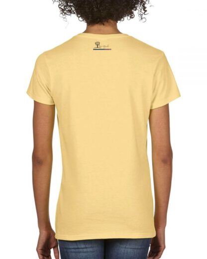 Hold My Wine, I've got this... Short Sleeve Ladies V Neck T-shirt, Butter