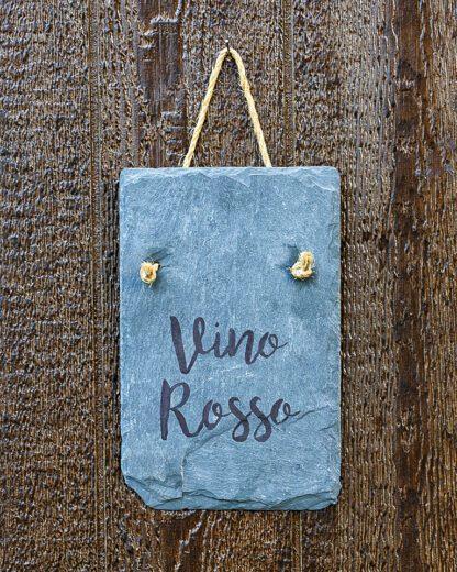 Vino Rossi slate wall hanging